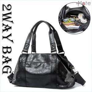 ショルダーバッグ メンズ トートバッグ バッグ 2way ビジネスバッグ ハンドバッグ カジュアル 旅行 出張 大容量 PU|99mate