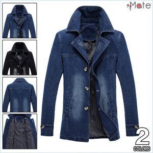デニムジャケット メンズ Gジャン ウォッシュ加工 ブルゾン デニム ジャケットジャンパー 大きいサイズ  アウター スリム|99mate