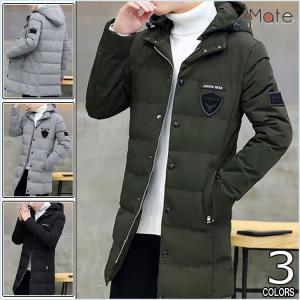 中綿コート メンズ アウター 中綿ジャケット ロングコート コート メンズジャケット ファッション 防寒着 おしゃれ 秋冬|99mate