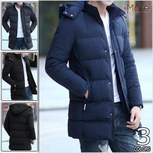 キルティングコート 中綿ジャケット メンズ フード付き コート ジャケット 中綿コート ファッション おしゃれ 防寒着 秋冬|99mate