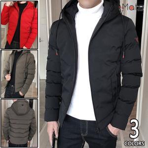 ジャケット メンズ 中綿ジャケット ビジネスコート キルティングコート アウトドア フード付き 防寒着 秋冬 2018 新作|99mate