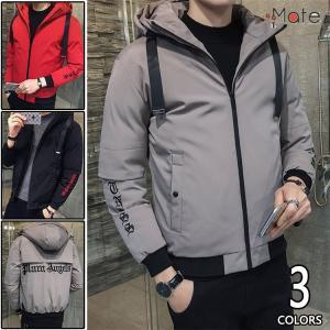 ビジネスコート 中綿コート メンズ アウトドア ショート丈 ジャケット 中綿ジャケット フード付き 防寒防風 秋冬|99mate