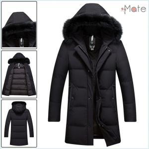 紳士用 ダウンジャケット メンズジャケット 秋冬 フード付き ショート丈 厚手 ダウンコート ブルゾン アウター 防寒 防風|99mate