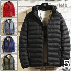 防寒防風 メンズ中綿ジャケット 秋冬 ジャケット 中綿コート ビジネスジャケット 紳士服 フード付き アウター|99mate