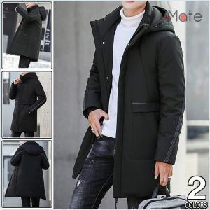 ダウンジャケット メンズジャケット ブルゾン フード付き 紳士用 ダウンコート ジャケット アウター 秋冬 防寒 防風|99mate