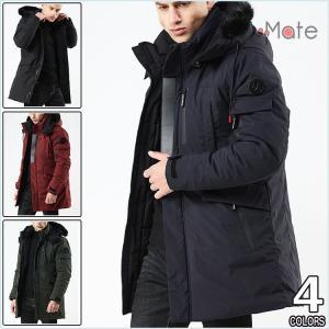 ミリタリージャケット メンズ 中綿ジャケット 中綿コート フード付き ジャケット ダウンジャケット 防寒着 軽量 アウター|99mate