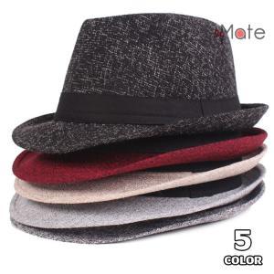 中折れ帽 メンズ おしゃれ ハット 紳士用 帽子 中折れハット 紫外線防止 日よけ帽子 サイズ調節 2018 新作 秋冬|99mate