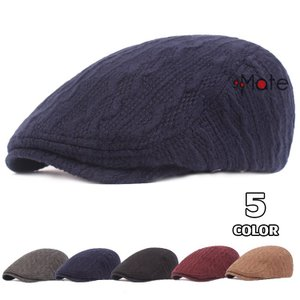ニットキャップ メンズ ハンチング帽 防寒 帽子 紳士 ハット かっこいい アウトドア サイズ調節 おしゃれ 春秋冬|99mate