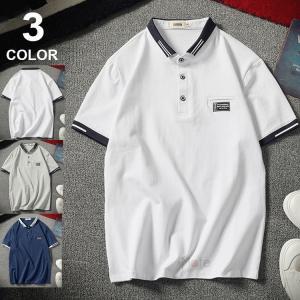 POLOシャツ メンズ ポロシャツ Tシャツ ルームウェア 半袖ポロシャツ 五分袖 カジュアル サマー 夏服 部屋着 薄手 おしゃれ|99mate