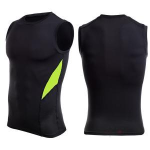 コンプレッションウェア メンズ アンダーシャツ Tシャツ 加圧インナー 加圧シャツ ノースリーブ おしゃれ 吸汗速乾 夏 99mate