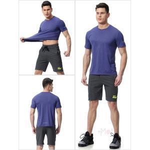 トレーニングウェア メンズ 半袖 加圧シャツ コンプレッションウェア アンダーシャツ 加圧インナー スポーツウェア 吸汗 速乾 99mate