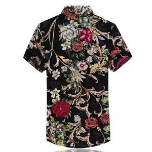 トップス 開襟シャツ メンズ 花柄シャツ 半袖 アロハシャツ カジュアルシャツ オープンカラー 大きいサイズ 夏 99mate