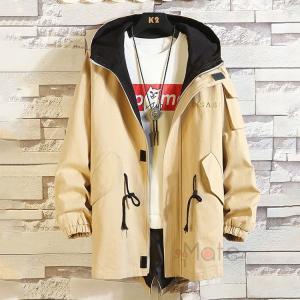 マウンテンパーカー メンズ ミリタリージャケット フルジップパーカー ジャケット 大きいサイズ フード付き 秋服 99mate