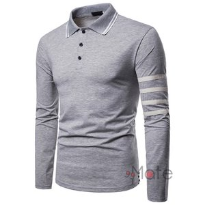 ゴルフウェア メンズ カジュアル ポロシャツ Tシャツ 長袖 ルームウェア POLO 部屋着 お兄系|99mate