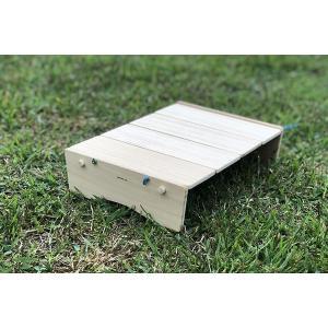 コンパクトにたためるB5ミニテーブル(完成品;収納袋付き) 9kei