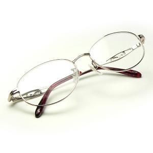 《激安・特価》おしゃれ老眼鏡(シニアグラス) CK-590 ピンク 婦人用 a-achi