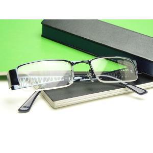 《激安・特価》おしゃれ老眼鏡(シニアグラス) ハードケース付き RP7507 ブルー|a-achi