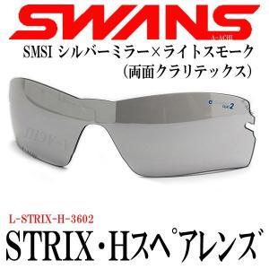 2年間無償修理保証 スワンズ SWANS STRIX H ストリックス用スペアレンズ L-STRIX-H-3602 SMSI ミラー|a-achi