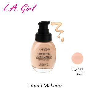 L.A.girl エルエーガール リキッドメイクアップ LM955 Buff 29.5ml (リキッドファンデーション)|a-base