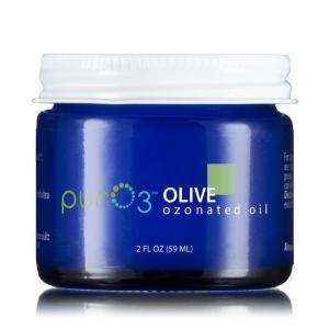 【日本未発売】 PurO3 Ozonated Olive Oil オゾンクリーム/ピュアークリーム オリーブ 59ml a-base