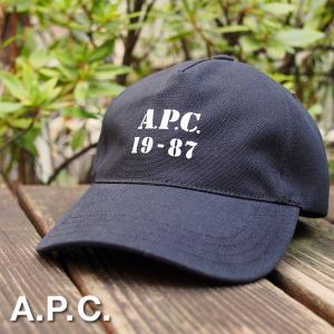 APC アーペーセー ベースボールキャップ ブラック EDEN BASEBALL CAP COCPR M24071 LZZ NOIR apc 帽子 A.P.C. a-base