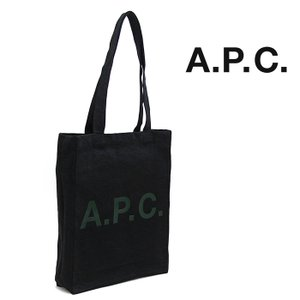 APC アーペーセー トートバッグ デニムトート NOIR DELAVE/ウォッシュドブラック  M61442 TOTE LAURE apc バッグ A.P.C.|a-base