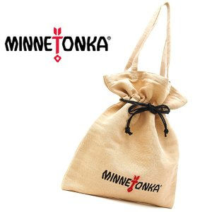 MINNETONKA ミネトンカ キャンバストートバッグ TOTE BAG 巾着バッグ ベージュ レディース トートバッグ 14567000 a-base