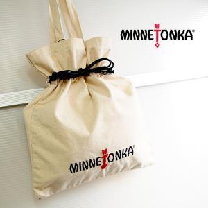 MINNETONKA ミネトンカ キャンバストートバッグ TOTE BAG 巾着バッグ ナチュラル レディース トートバッグ 14567100 a-base