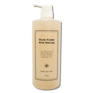 BBピーリング シャインフラワー マイルドピーリングジェル (マッサージジェル) ローズの香り 1000g|a-base