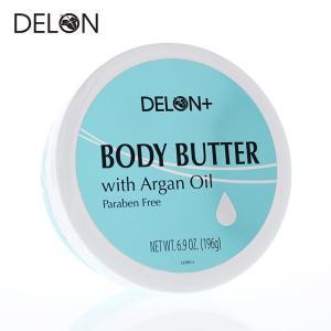 DELON デロン ボディバター アルガンオイル 196g (ボディークリーム)|a-base