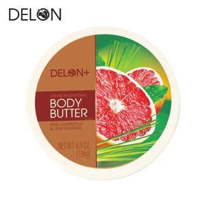 DELON デロン ボディバター ピンクグレープフルーツ&レモングラス 196g (ボディークリーム)|a-base