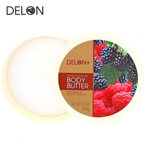 DELON デロン ボディバター ラズベリー&カシス 196g (ボディークリーム)|a-base