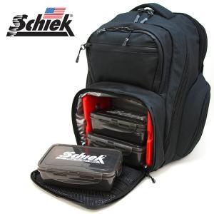 Schiek シーク ミールバックパック ブラック ジムバッグ リュック Meal Pack Backpack フィットネス バッグ ジム 筋トレ|a-base