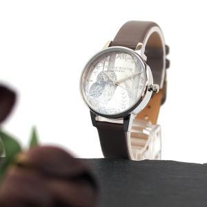 OLIVIA BURTON オリビアバートン 腕時計 スノーグローブ ビーガン ロンドングレイ&シルバー  オリビアバートン レディース 時計 OB16SG10 a-base