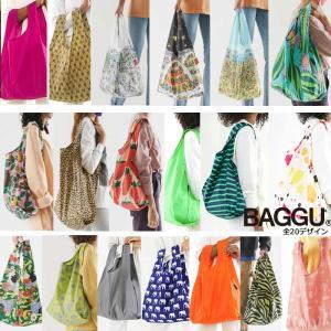 【メール便可】 BAGGU バグゥ エコバッグ Mサイズ 全20デザイン STANDARD BAGGU スタンダードバグー ショッピングバッグ レジバッグ|a-base