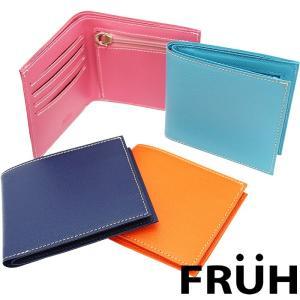 FRUH フリュー レディス スマートスリムウォレット 全4色 二つ折り財布|a-base
