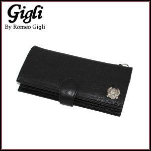 *受注発注商品*   Gigli by Romeo Gigli ジリ バイ ロメオ ジリ メンズ 長財布 レザー G57011 ブラック|a-base