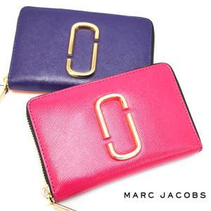 MARC JACOBS マークジェイコブス ラウンドファスナー二つ折り財布 M0013354 全2色 スナップショット SNAPSHOT ミニ財布 マークジェイコブス 財布|a-base