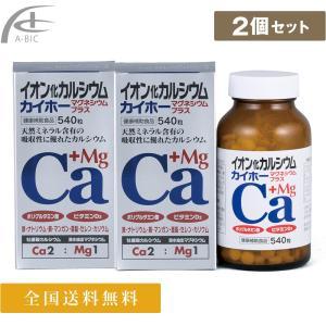 イオン化カルシウム マグネシウムプラス 540粒入x2個セット(¥500割引)送料無料!|a-bic