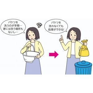 安寿 ポータブルトイレ用処理袋 すっきりポイ 30枚入 533-226 アロン化成|a-care|04