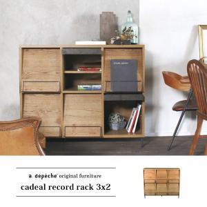 カデル レコードラック 3x2 cadeal record rack 3x2|a-depeche