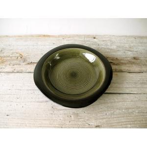 カフェ・ド・シック プレート (S-グリーン) cafe de chic plate (S-GR) ブラックが効いたシックなプレート。インテリアにも最適!|a-depeche