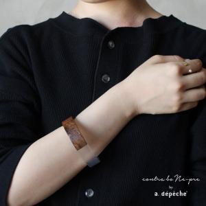 バングル 腕輪  『 ウッドバングル 001 』 バングル 腕輪 レディース おしゃれ 木製 天然素材 木 ナチュラル エスニック アジアン カジュアル|a-depeche