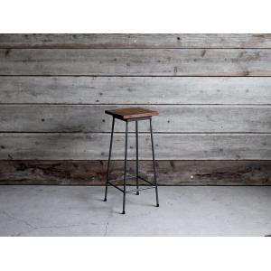 アイアンハイスツール Iron high stool|a-depeche