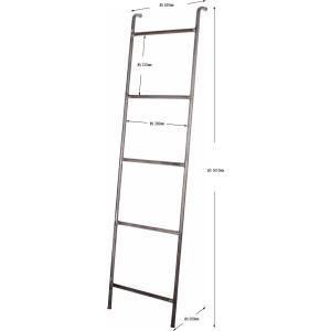 アイアン ラダー iron ladder 上着や、ストール、バッグを引掛けるインダストリアルな雰囲気のラダー|a-depeche