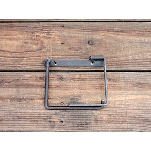 iron paper holder(S) アイアン ペーパーホルダー(S) クリア アイアンのちょっと変わったペーパーホルダー|a-depeche