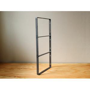 アイアン ウォールシェルフサポート (L) iron wall shelf support (L)|a-depeche