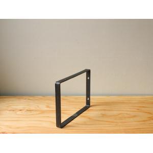 アイアン ウォールシェルフサポート (S) iron wall shelf support (S)|a-depeche
