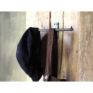 アイアン ワイド フラット ホルダー iron wide flat holder 玄関やキッチンお気に入りの部屋で使いたいフック|a-depeche