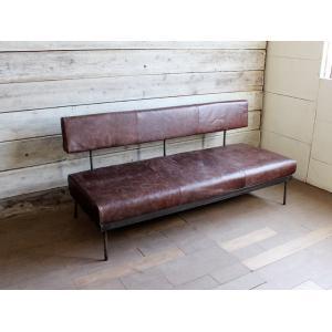モリードフラットソファ ヴィンテージライクレザー molid flat sofa vintage like leather|a-depeche